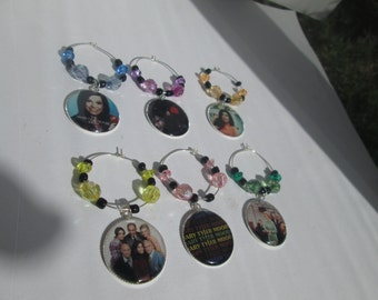 WINE TAGS / Set of 6 / Mary Tyler Moore / Item E022