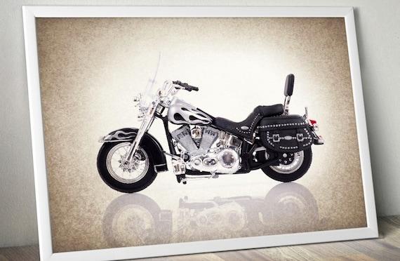 Items Similar To Harley Davidson 1999 Road King Decor