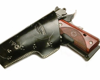 Colt 1911 (Right Hand-Corss Draw-ITB) Black