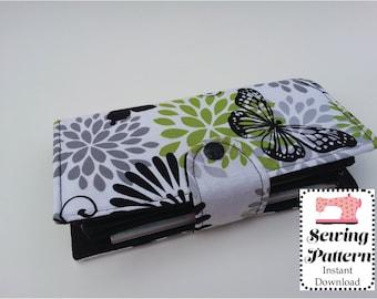 Wallet SEWING PATTERN PDF, Cash Envelope Wallet, Cash Budget System, Bifold Wallet, Woman Wallet