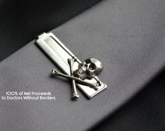 A Pirate's Tie Clip for Me! - 100% of Net Proceeds to Doctors Without Borders