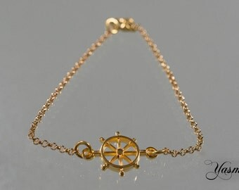 Nautical gold plated
