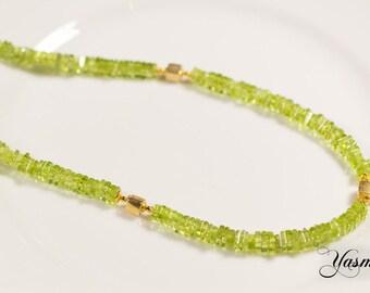 Peridot dreams necklace