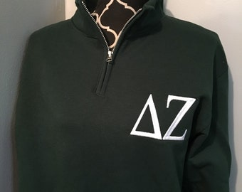 Delta Zeta quarter zip