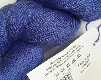 Rooster Delightful Lace Yarn, 100g, Alpaca, Silk, Colour Huaraz 621