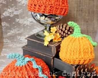 Pumpkin Hat, newborn photo prop, first halloween, halloween costume baby, halloween hat, pumpkin costume baby, adult pumpkin hat
