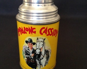 Vintage Hopalong Cassidy Thermos with original stopper