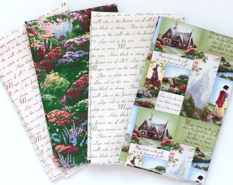 Snow White Fat Quarter Bundle by Thomas Kinkade for David Textiles  OOP VHTF