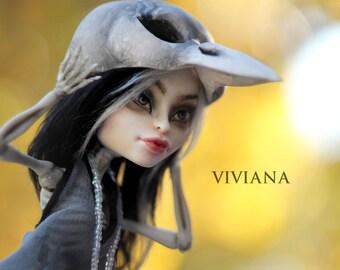 Viviana - OOAK Monster High Repaint Art Doll