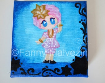 Effie Trinket (Hunger Games) - Small paintings