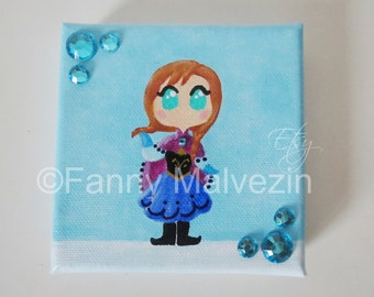 Anna (Frozen) - Mini paintings