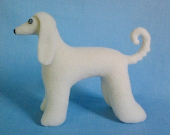 Sewing pattern of a dog Afghan borzoi, Stuffed dog sewing pattern, Soft toy sewing pattern, Plush toy sewing pattern, Doll sewing pattern