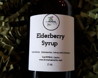 Elderberry Syrup, Health, Herbal, Natural, Handmade