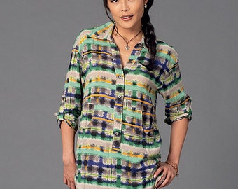 McCall's Pattern M7251 Misses' Blouses