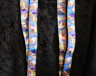 Beauty & the Beast lanyards and key fobs