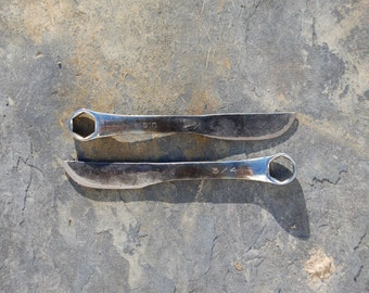Large Hand Forged Wrench Knives