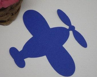 Plane, Air Plane,Die Cuts, Die Cut Shapes 45 Piece Set  Item No. VTC-0223