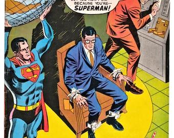 SUPERMAN, #211, November, 1968 Comic Book