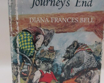 Vintage Children's Book - The Rebels of Journeys End - Anthropomorphic Animal Tales