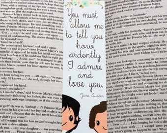 Pride and Prejudice Quote Bookmark