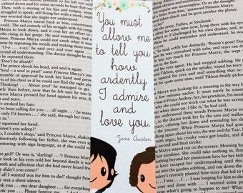Pride and Prejudice Quote Bookmark