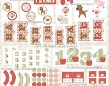 Farm Birthday Party Decorations | Farm Party Printable Package | Girl Birthday | Gracie Lee Design