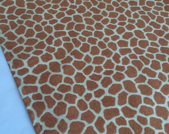 Giraffe Print Table Runner: Accent Table Mat Or Runner Ideal For Safari  Party, Giraffe