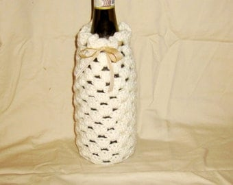 Wine Bottle Cozy // Cover // Wine Bag // Sleeve // Choose your color! // Wine Gift Bag // Wine Bottle Cover