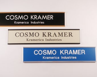 Cubicle Name Plate Etsy
