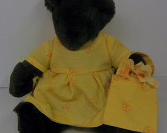 The original honey bear house plush teddy bear
