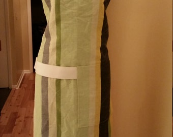 Cotton/linen Apron