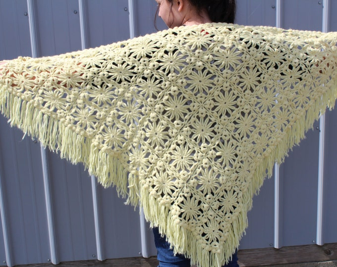 Crocheted Shawl, Wrap