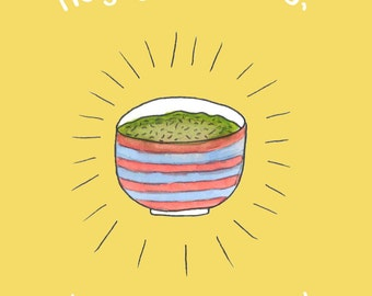 Holy Guacamole Birthday Card by Chelsea-Lee Elliott