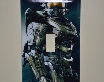 Halo Master Chief Light Switch Cover