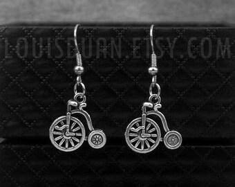 Bike Earrings -Bicycle Earrings -Cycling Earrings -Sport Earrings -Cyclist Earrings
