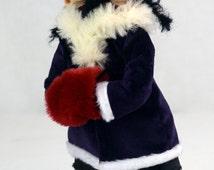 ooak gothic art doll FAITH & GRACE (art dolls artist doll creepy cute doll handmade collectible doll siamese twins Tim Burton)