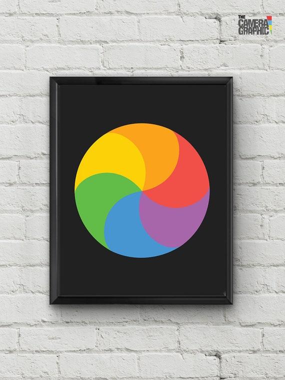 how to change the pinwheel on mac