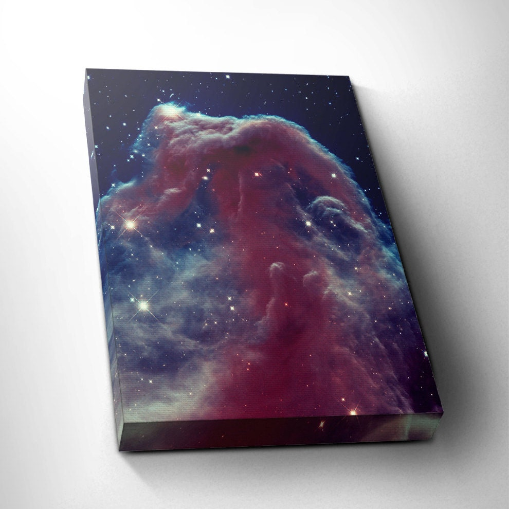 Horsehead Nebula Astronomy Decor Outerspace Wall Art Space