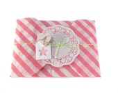 Spring Packaging, Pink Wrapping Paper, Easter Wrapping, Jewelry Wrap, Gift Wrap, Package For Jewelry, Packaging Supply