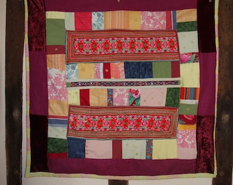 Angel quilt-patchwork wallhanging/throw