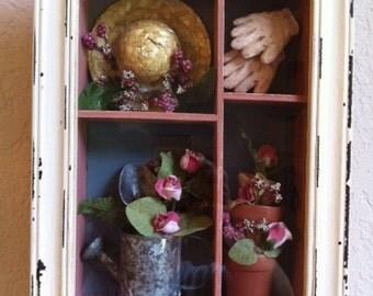 Garden Themed Keepsake Box