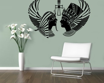 Egyptian Gods Wall Decal Sacred Symbol Vinyl Sticker Home Interior Ancient Egypt Wall Decor Mural Housewares 3(egp)