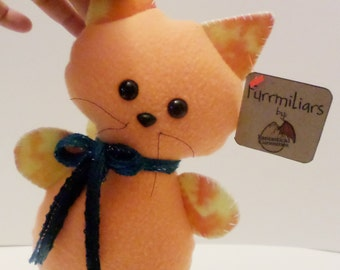 Orange Cat Pillow Plush -- Furrmiliars