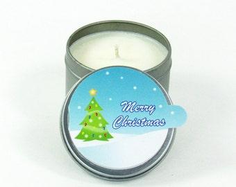 MERRY CHRISTMAS ~ CardCandle Travel Tin