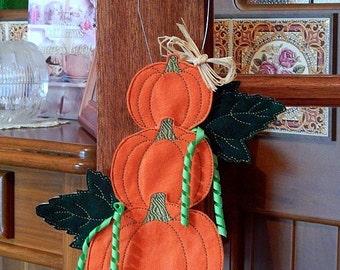 ITH Pumpkin Door Hanger - (4x4, 5x7 & 6x10)