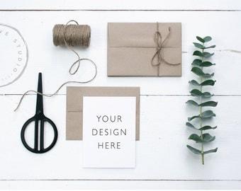 Styled stock Photo | Card Mockup | Styled Photography | Stationery Mockup | Cards, invitations
