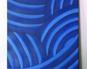 The Blue - original artwork painting