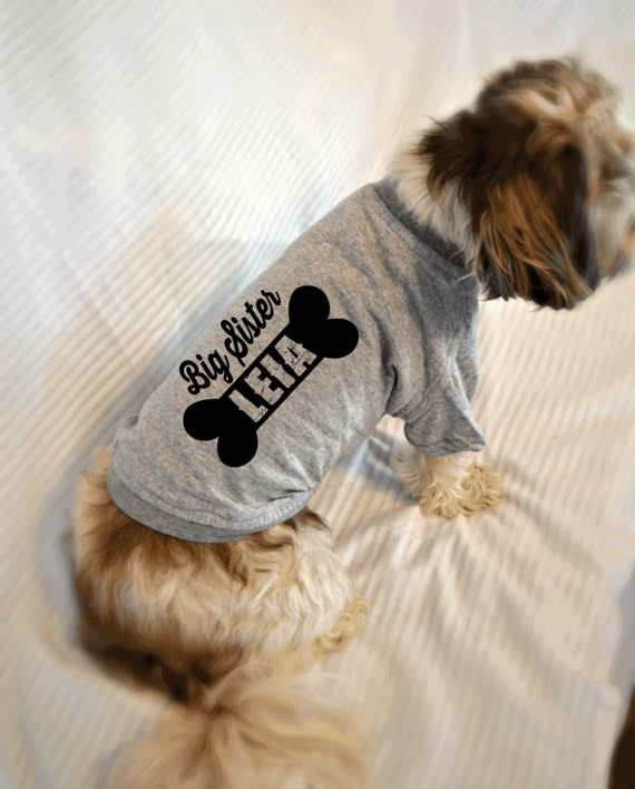 Custom dog t shirts personalized with your dog 39 s name for Custom pet t shirts