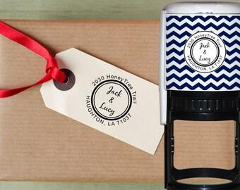 Self Inking Address Stamp, Wedding Stamp, Address Stamp, Custom Address Stamp, Return Address Stamp, Wedding Gift