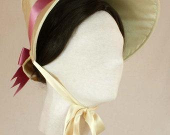 PDF Pattern #0615 Romantic Era Bonnet and Pelerine